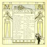 Inhaltsverzeichnis - The Baby's Opera - Walter Crane