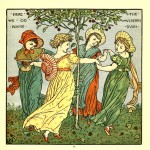 Here we go round the mulberry bush - Walter Crane