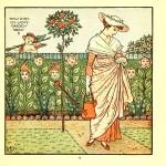 How does my Lady's garden grow - Walter Crane