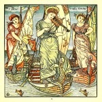 I saw three ships - Walter Crane