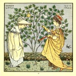 I had a little nut tree - Walter Crane