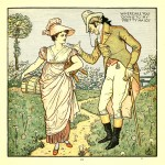 Where are you going to my pretty maid? - Walter Crane