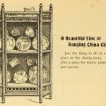 Hängeschränkchen - Hanging China Closet