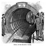 Portal des Broadway-Tunnels