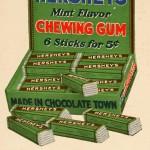 Hershey's Mint Flavor Chewing Gum
