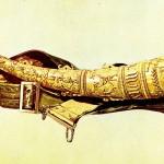 Oliphant - Jagdhorn aus Elfenbein