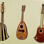 Quinterne und Mandoline