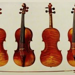 Violinen: Alard Stradivari und King Joseph Guarnerius del Gesu