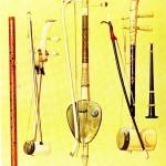 Instrumente aus Siam - Saw Duang, Saw Tai, Saw Oo, Klui, Pee