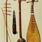 Musikinstrumente aus China mit Pi-Pa