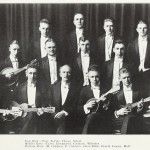 Mandolin Club 1918