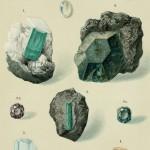 Smaragd, Beryll, Aquamarin, Chrysoberyll