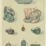 Vesuvian, Dioptas, Turmalin