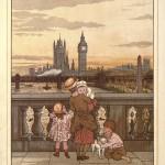 Blick auf London