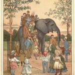 Elefant im Zoologischen Garten London