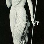 Statue der Parvati als Shabari