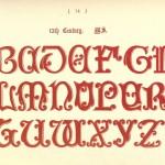 Alphabet aus dem 13. Jahrhundert, Manuskript