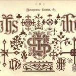 Monograme, Kreuze und andere Symbole