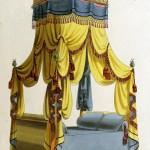 Polnisches Bett (um 1800)