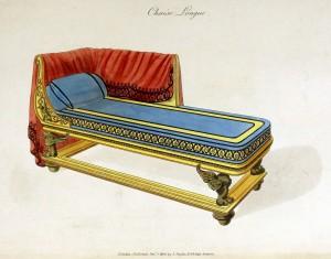 Chaiselongue (um 1800)