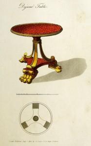 Frühstückstischchen (um 1800)