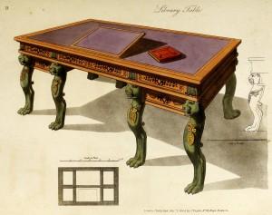 Bibliothekstisch (um 1800)