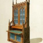 Sekretär und Bücherschrank (um 1800)
