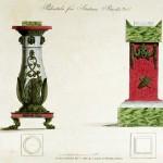 Sockel für Statuen oder Büsten (um 1800)