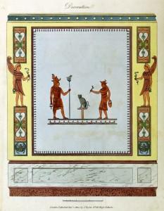 Wanddekoration (um 1800)