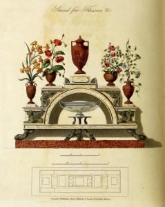 Blumenregal (um 1800)