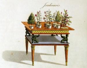 Pflanztischchen (um 1800)