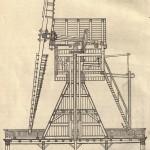 Querschnitt durch Europäische Windmühle