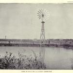Ansicht der Mühlen Nr. 3 - 12-foot Aermotor