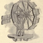 Anscht der Windmühle Nr. 28 - 16-foot wooden Althouse