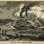 Explosion des Dampfschiffes Moselle