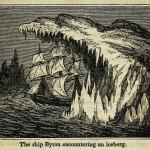 Das Schiff Byron begegnet einem Eisberg
