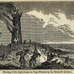 Verbrennung des Leuchtturms bei Cape Florida durch die Seminole Indianer