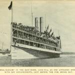 Die General Slocum auf dem East River