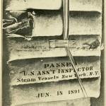 Verrottete Schwimmhilfen mit Datum der letzten Inspektion