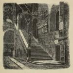 Florenz - Bargello Innenhof und Treppenhaus