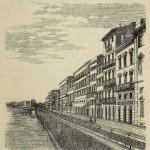 Florenz - Entlang des Arno nuovo