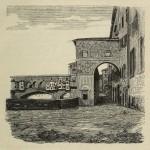 Florenz - Entlang des Arno vecchio und Ponte Vecchio