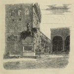 Florenz - Piazza della Signoria, von der Via Condotta