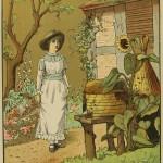 Bienenkorb im Garten