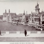 Pavilions showing the Paris of the Middle Ages
