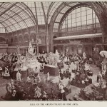 Paris Exposition Universelle de 1900 - Die Halle des Grand Palais