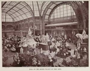 Paris Exposition Universelle de 1900 - Die Halle des Grand Palais