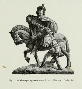 Sankt Martin - Gruppe aus der Sammlung Roberts
