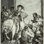 Sankt Martin, nach einem Gemälde von Rubens, Flämische Schule, 17. Jahrhundert