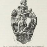 Sankt Martin, Holzschnitzerei mit Vergoldung, Deutsche Arbeit des 16. Jahrhunderts